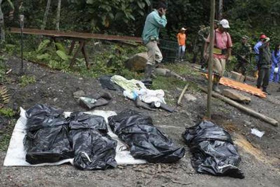 113 muertos en las minas de Colombia en lo que va corrido del año