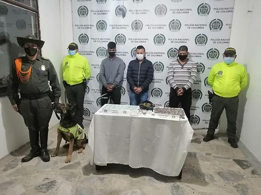 Asegurados tres presuntos implicados en venta de sustancias ilegales al menudeo en Sogamoso