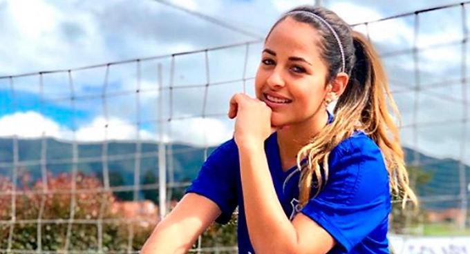 La futbolista colombiana que se va de Millos