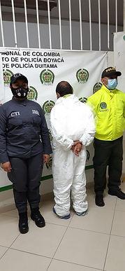 Capturaron al responsable de un homicidio en Duitama