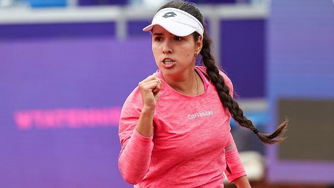 Buen momento para la tenista colombiana María Camila Osorio