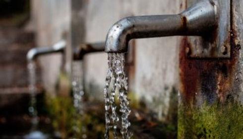 Baja presión de agua en el centro de Tunja
