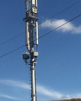 Se hacen pruebas para poner en servicio la antena 5G