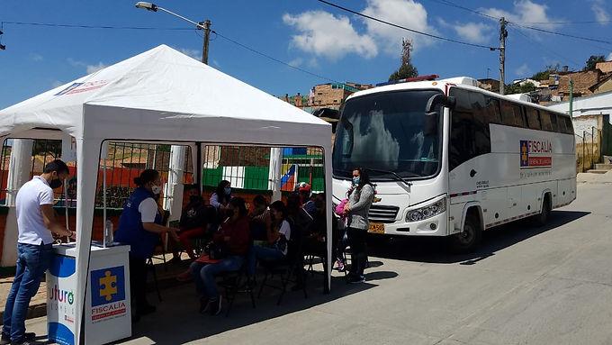 Fiscalía Móvil llegará a los municipios de Togüí y Tinjacá en Boyacá