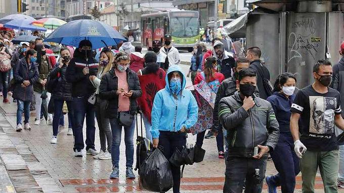 La cuarentena debe estar acompañada por la renta básica, dicen líderes colombianos