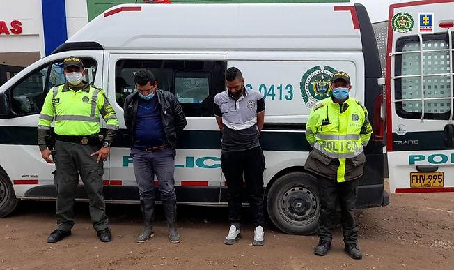 A la cárcel tres hombres que habrían intentado secuestrar al propietario de una estación de gasolina en Boyacá