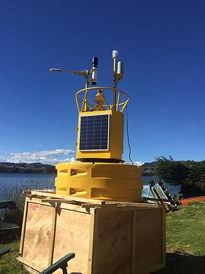 Ya empezó el monitoreo climatológico del lago de Tota