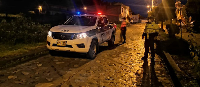 La Policía de Boyacá presenta su balance del fin de semana