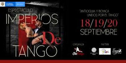 Antioquia y Boyacá unidos por el tango