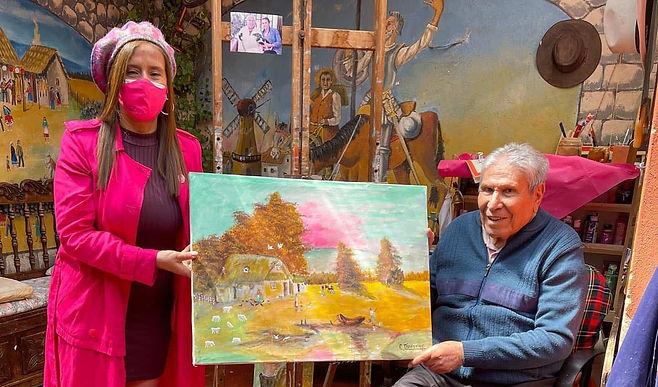 Celebraron los 100 años del artista duitamense