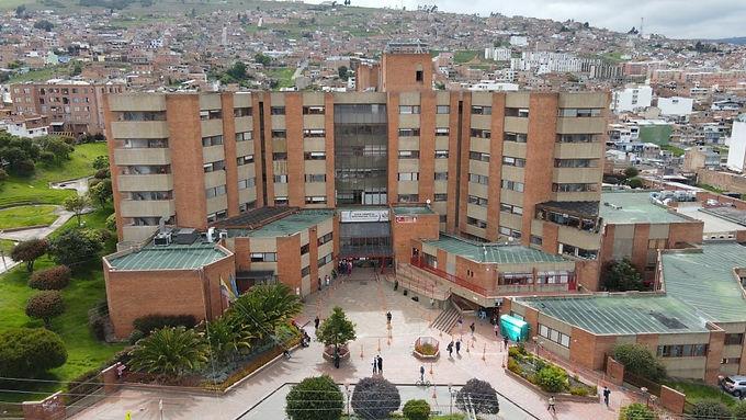 Hospital de campaña en Tunja