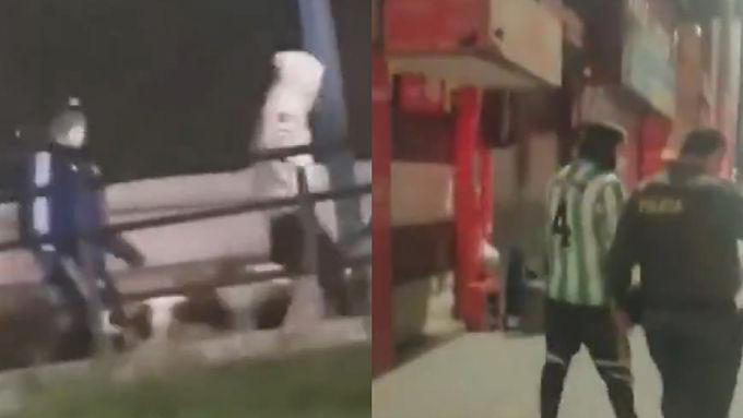Enfrentamiento entre hinchas dejó uno herido