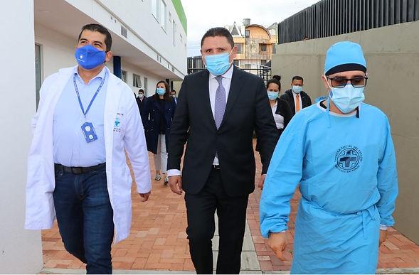 Todo listo en Tunja para la vacunación anti-COVID trabajando 7 días a la semana