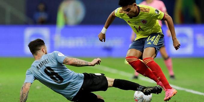 Colombia eliminó a Uruguay
