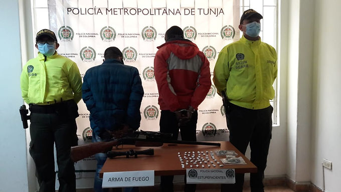 Fiscalía desmanteló en tres días una denominada 'olla' de expendio de estupefacientes en Tunja
