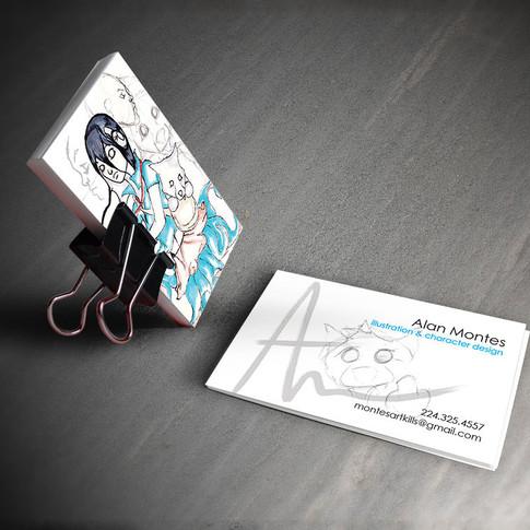 Business Card - Comic Artist