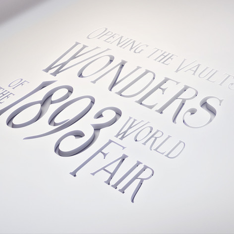 Wonders of the 1893 World Fair Logo