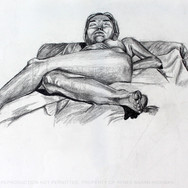 Nude Female Resting