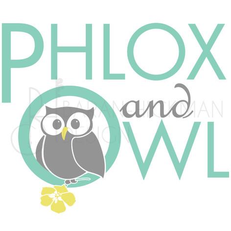 Phlox & Owl Logo