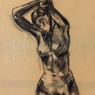 Nude Gesture Drawing