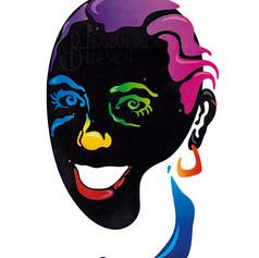 Paint Palette Self Portrait