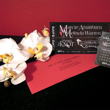 Movie Ticket Wedding Suite