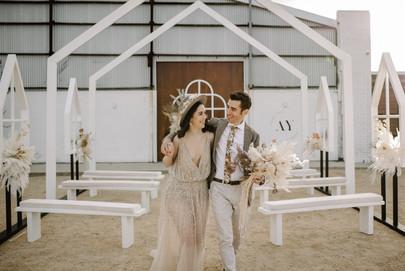 Bride & Groom Boho