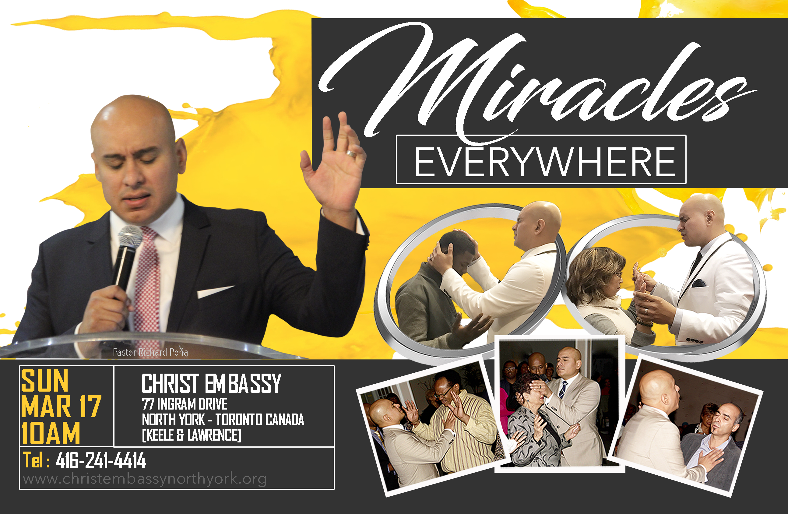 Miracles Everywhere Christ Embassy Toron