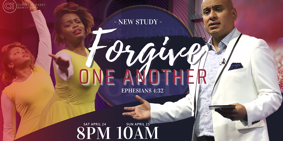 """""""FORGIVE ONE ANOTHER"""" (Ephesians 4:32)"""