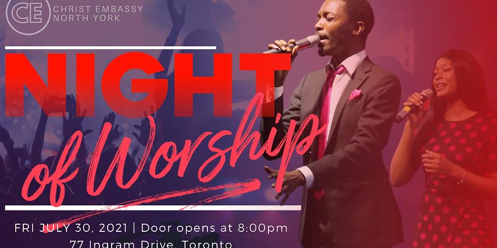NIGHT OF WORSHIP!