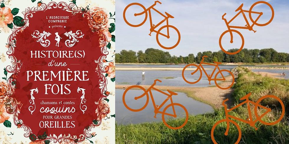 Balade-vélo-spectacle en bord de Loire