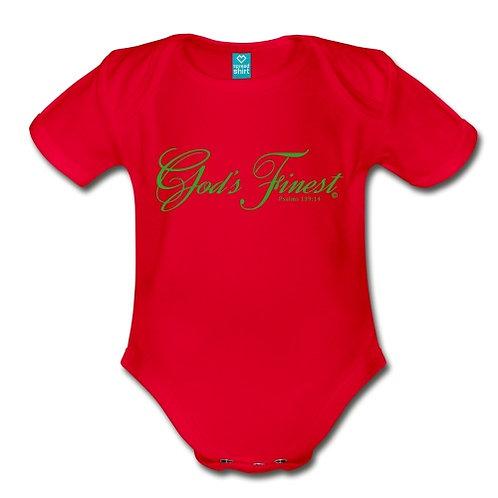 God's Finest Baby Short Sleeve Onesie