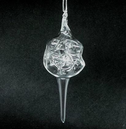 Christmas glass bauble