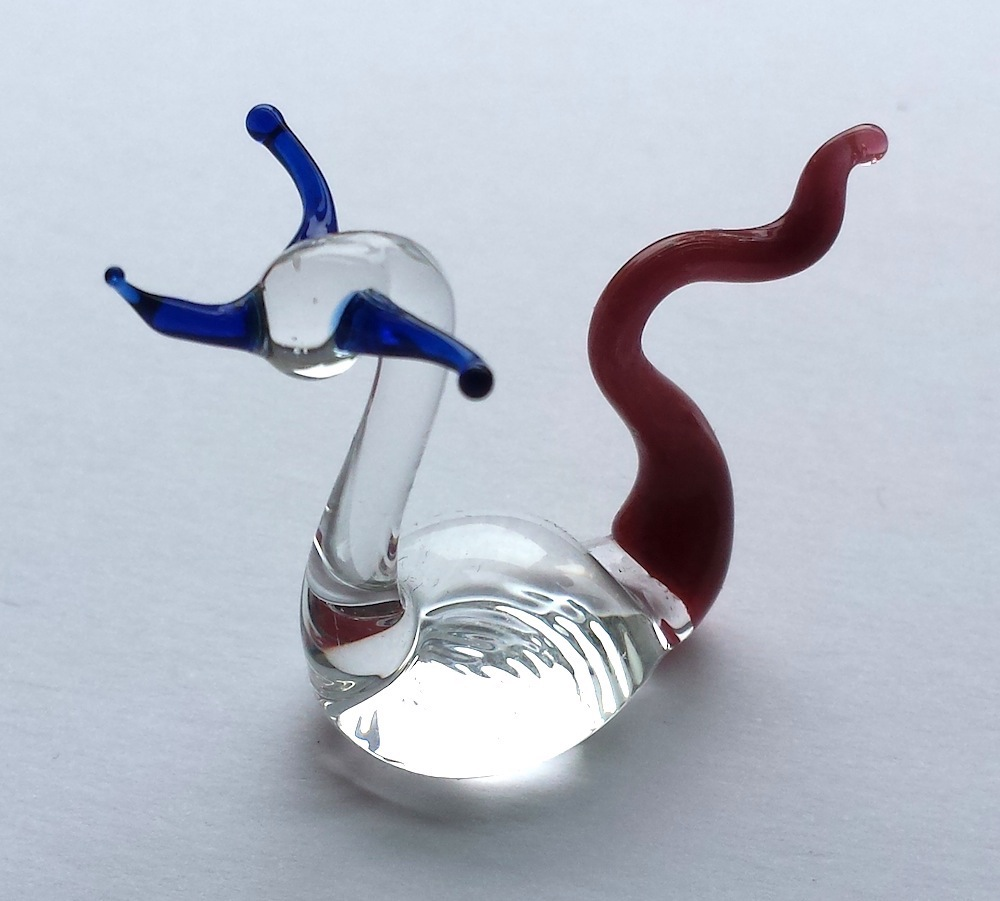 Small Colour glass Nessie