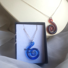 SPIRAL NECKLACES