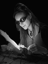 Rachel on torch