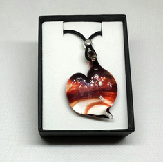 Marble Heart pendant