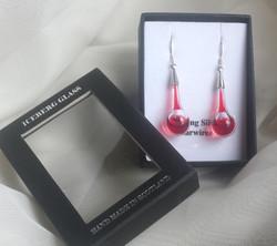 Acid Drop earrings in red