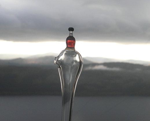 Whisky pipette, whisky bottle