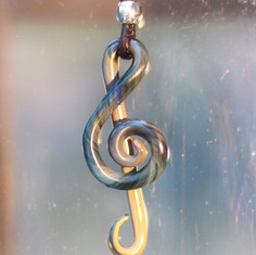 TREBLE CLEF, EXOTIC GLASS