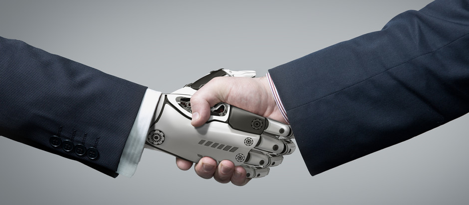 Merging humans with machines, the answer to keeping up with AI?