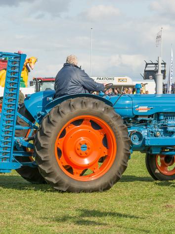 vintage tractors at Wensleydale Show (2