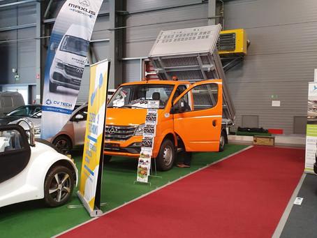Užitkové vozidlo MAXUS EV80 na e-Salonu 2019 (fotogalerie)