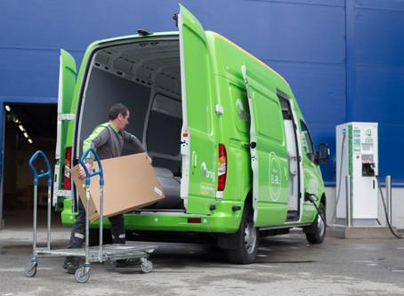 Že jsou elektrické dodávky vzdálená budoucnost? Společnost IKEA vás přesvědčí o opaku!