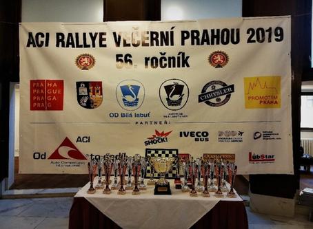 O víkendu proběhl již 56. ročník Rallye večerní Prahou. Jak si vedl Maxus EV80?