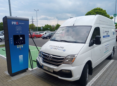 Jak přežít elektromobilitu - 1.280 testovacích km v užitkovém furgonu Maxus EV80
