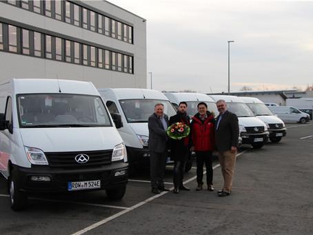 Maxus prodává EV80 do Německa