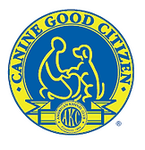 AKC Certified Canine Good Citizen Evaluator Logo