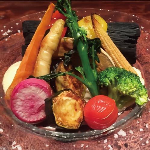 焼野菜のバーニャカウダー