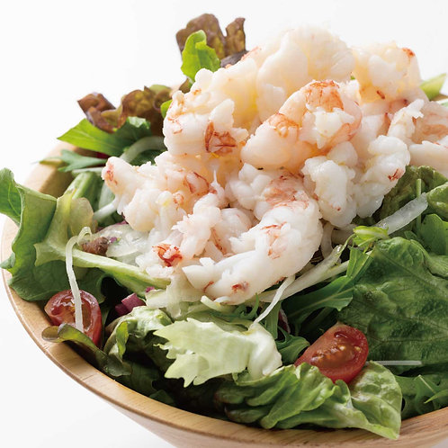 ぷりっぷり赤海老のサラダ